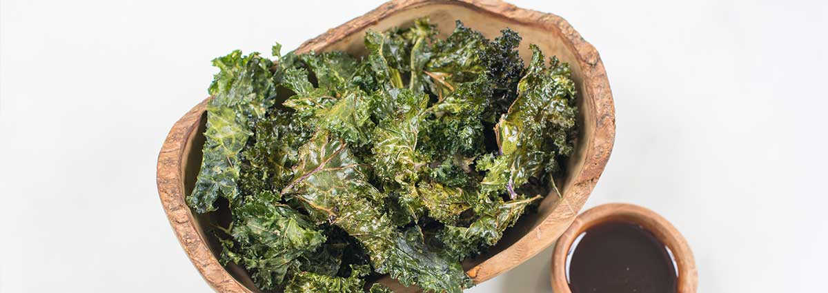 baked oregano kale chips